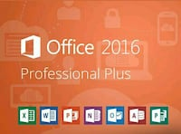 Microsoft Office 2016 Pro ➕ 32/64bit key Berlin, 10243