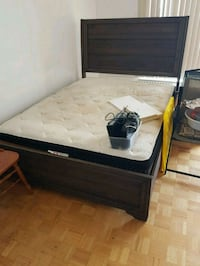 queen size bed and mattress with headboard Toronto