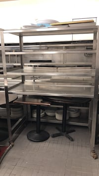kitchen rack - stainless steel