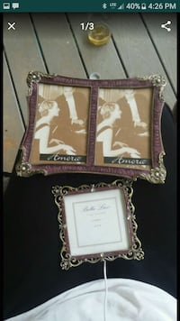 Purple gold and pearl picture frames  Greenville, 29617