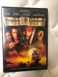 Pirates of the Caribbean: Curse of the Black Pearl DVD Ashburn, 20147