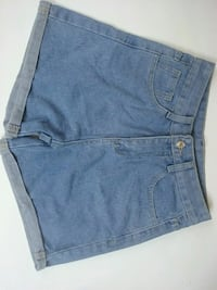 Cuffed denim shorts Los Angeles, 91364