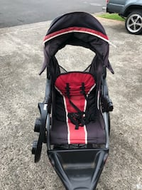 baby's black and red stroller Honolulu, 96818