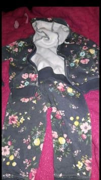 black and pink floral dress Los Angeles, 90044