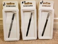 Samsung Stylus Pen Note 3 $10 Note4 $12 and Note5 Mississauga, L5W 0E7