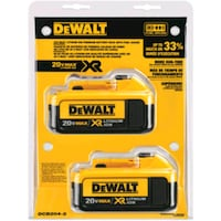 New Dewalt 20volt batteries 4AH in the package Westbank, V4T 2H2