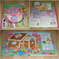 """Abby Cadabby Fairy Tale Fun First Look and Find Book (large 12"""" x 10"""" size) Surrey"""