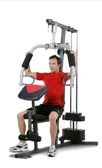 black and gray exercise equipment 616 mi