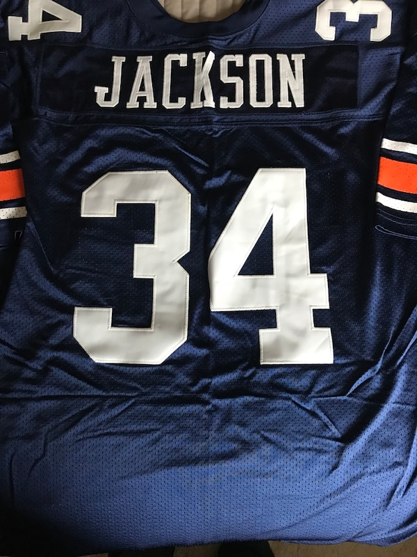 new style fbd71 9b8a8 Bo Jackson Auburn Tigers Collegiate Legends New Jersey