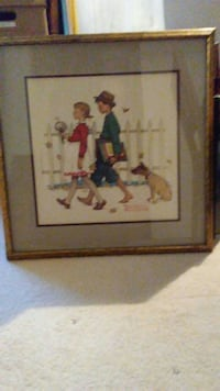 Norman Rockwell framed picture. Henderson, 89002