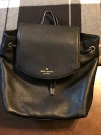 Kate Spade Mulberry Street Small Breezy Leather Backpack Bag in Black Long Beach, 90808