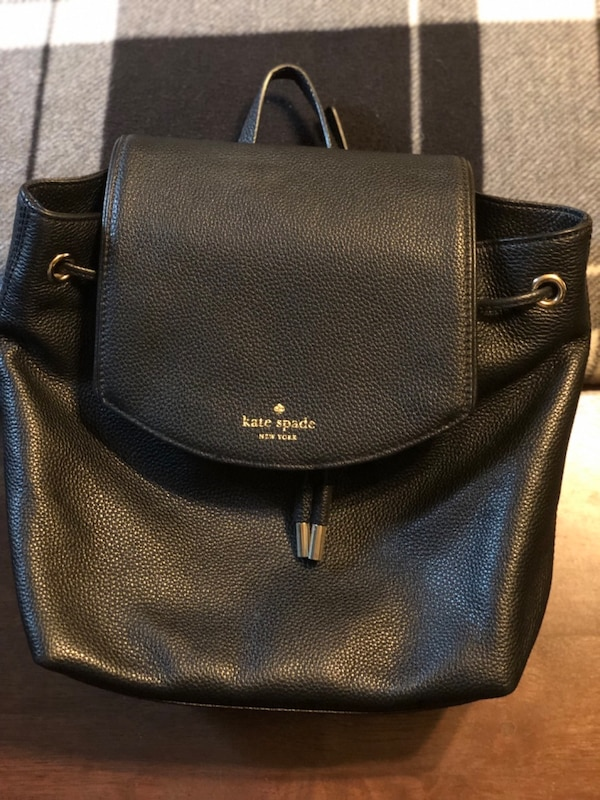 217d330e88e40 Used Kate Spade Mulberry Street Small Breezy Leather Backpack Bag in Black  for sale in Long Beach
