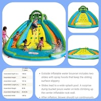 "Summer Chill Rental ""wet and slide"" Ajax, L1S 5C7"