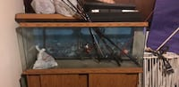 55 galon fish tank with stand Burke, 22015
