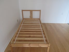 Solid Pine Ikea Twin Bed Frame