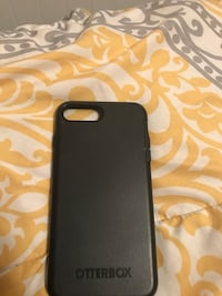 black Otter Box for iPhone 7 Plus