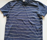 Shirt short sleeve mens striped graphic  Fort Knox