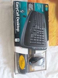 Logitech EasyCall Desktop - Wireless Keyboard and Mouse with Speakerphone and Headset - USB Toronto
