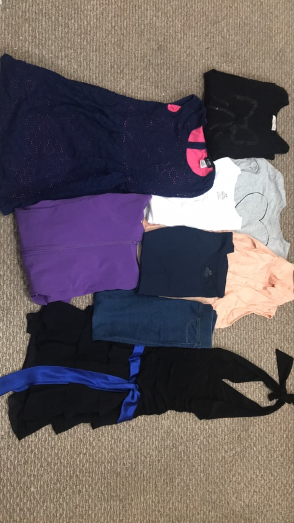 Between 10 and 12 year old girl clothing $25 or OBO 3d66846f-3a27-403b-a3ed-511d316ccd5b
