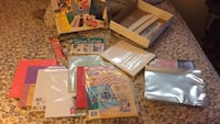 At least 10 unopened packages of acid-free paper plastic inserts design tool and idea books 585 km