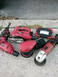 red and black Milwaukee cordless power drill Lake Worth, 33460