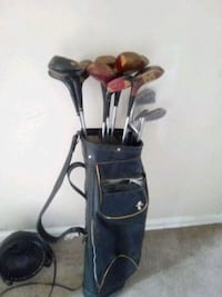 Wilson and Jimmie Thompson golf clubs used 16 clubs  [TL_HIDDEN]