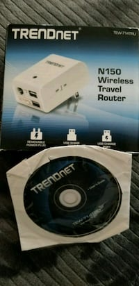 Trendnet N150 wireless travel router box and compa Aldie, 20105