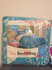 REVERSIBLE COMFORTER QUEEN SIZE  (NEW IN BAG) Woodbridge, 22193