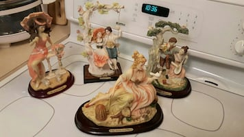 "Italian ""Natalia"" Figurine Collection"