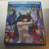 Ghost in The Shell, Blu Ray. Sollentuna