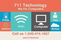 Tech support service Germantown, 20876