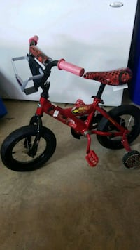 toddler's red and black training bicycle Waldorf, 20603
