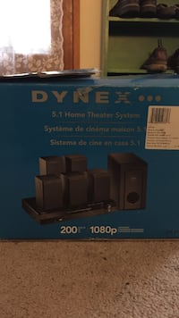 Dynez 5.1 home theater system box Bellingham, 98225