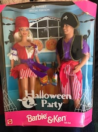 New collectible Halloween party with Barbie and Ken doll Sacramento, 95828