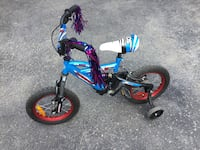 """Boys 14"""" SuperCycle bike, 1.4DS model, with training wheels. Limoges, K0A 2M0"""