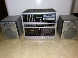 LXI compact stereo with cassette