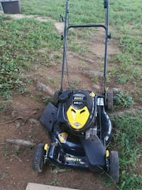 black and yellow push mower Knoxville, 21758