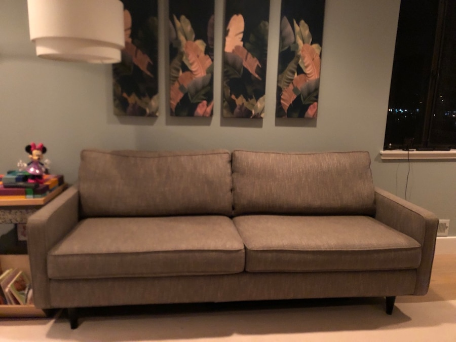 used mid century modern style sofa for sale in mill valley letgo rh us letgo com