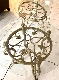 Gold living room tables Tampa, 33618
