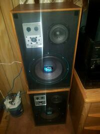 2 house speakers  Maple Ridge, V2X 2S1