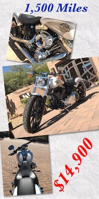 Harley 2016  only 1,500 Miles   Scottsdale, 85255