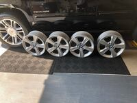 BMW OEM equipment 330i /e46 17 inch wheels with BMW center caps Owings Mills, 21117