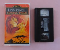 Disney The Lion King II: Simbas Pride (VHS) KITCHENER