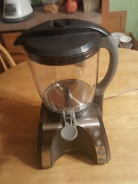 Not a coffee maker.  It's a blender with heater. Rochester, 14606