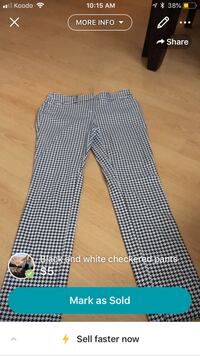 black and white houndstooth pants Gatineau, J8Y 3M5
