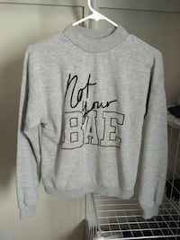 gray and black pullover hoodie Kitchener, N2R 1T9