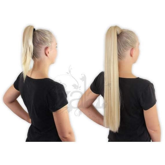 ZALA - real human hair clip-on ponytail extensions