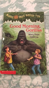 Good morning Gorillas in good condition for one dollar and fifty cents  Frederick, 21704