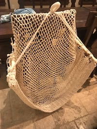 Hanging Woven and Wood Chair  Los Angeles, 91367