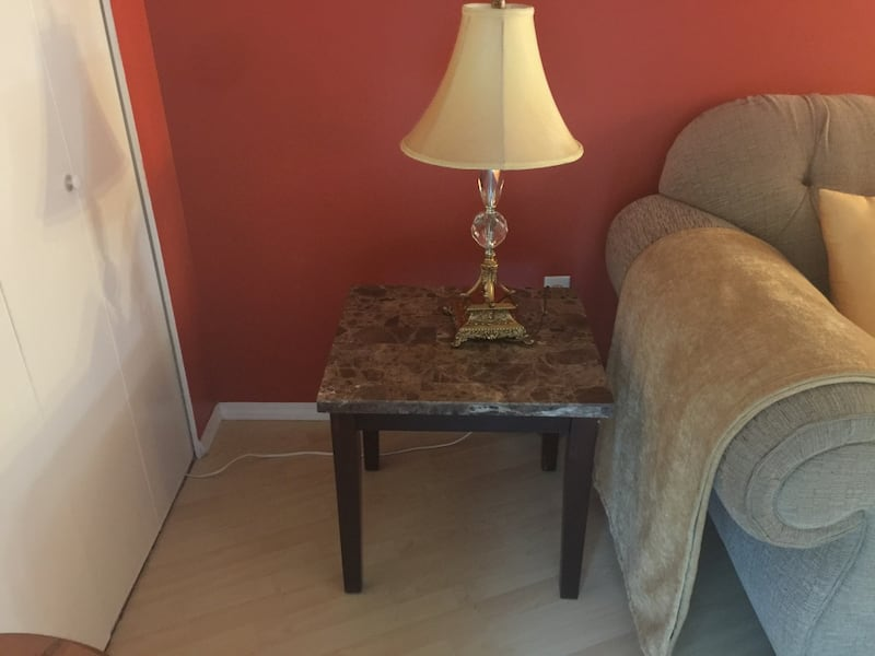Marble top coffee table and end table set 8d3227f2-897d-40fb-9a28-461edb722265